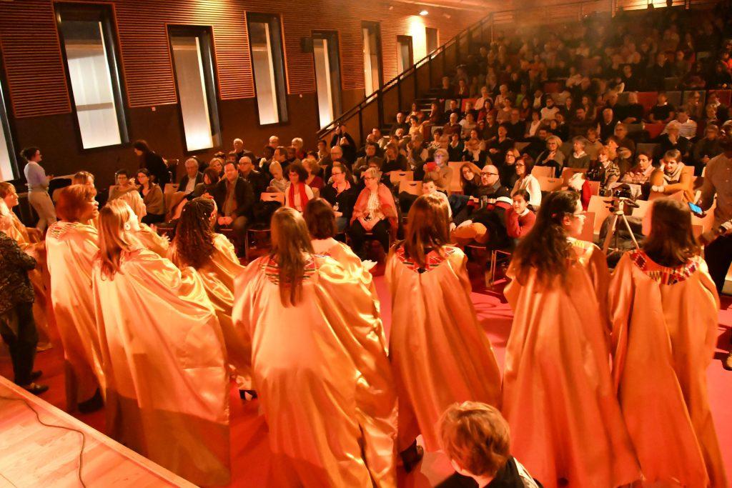 Vue sur le public du dernier concert des Soboyo Singers