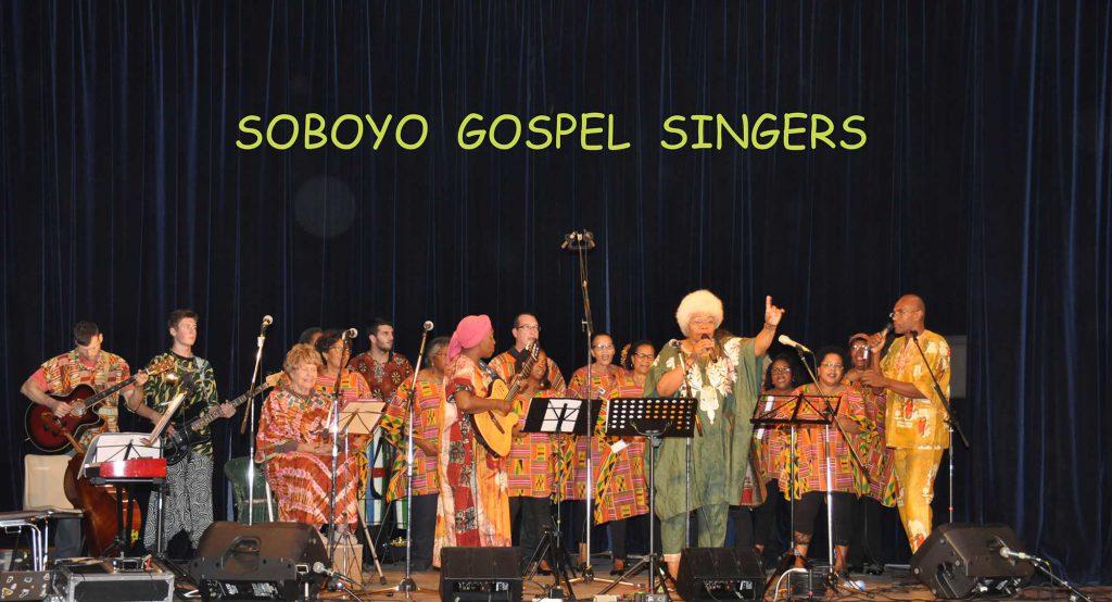 Le choeur des Soboyo Gospel Singers lors du show de 2016.