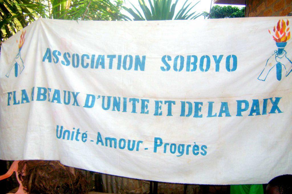 Solidarité Soboyo est une association solidaire avec des habitants de la ville de Bangui, capitale du Centrafrique, unis contre la misère