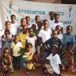 Groupe d'enfant de Soboyo Bangui