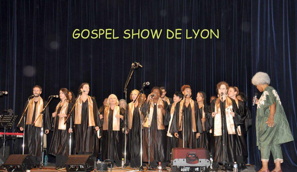 Le chœur de gospel Soboyo lors du Gospel Show de Lyon.