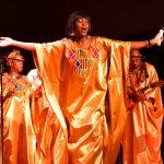 Solista gospel durant le dernier concert de Soboyo en 2020